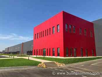 Brie-Comte-Robert (77) : le groupe Panhard livre un bâtiment logistique de 48 000 M² à Amundi - Business Immo