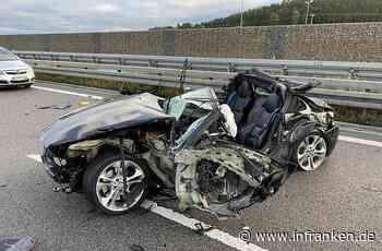 A9 bei Hilpoltstein: Auto fährt gegen Lastwagen - Fahrer (31) tödlich verletzt - inFranken.de