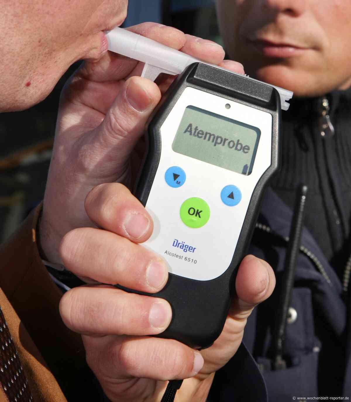 Verkehrskontrolle in Glanbrücken: Unter Einfluss von Alkohol unterwegs - Wochenblatt-Reporter