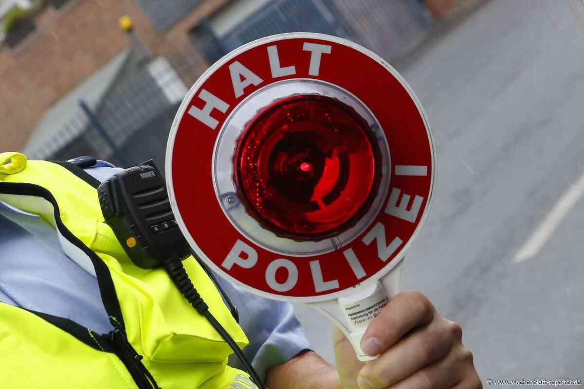 Lauterecken: Kontrolle mit Folgen: Amphetamin, THC, aber kein Führerschein - Wochenblatt-Reporter