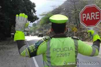 Cierre en vía Amagá-Titiribí, suroeste de Antioquia, por deslizamiento - Semana.com