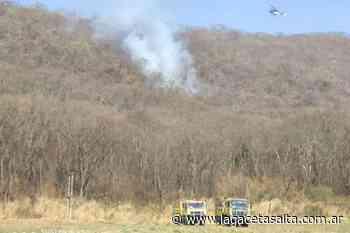 Video: Alerta por la reactivación de focos de incendio en Chachapoyas y cerca de la UNSa - Actualidad   La Gaceta Salta - La Gaceta de Salta