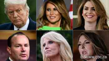 Here's who tested positive for COVID-19 in U.S. President Trump's inner circle
