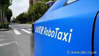 China's robot taxis: Would you ride in one?