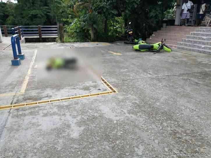 Dos policías fueron asesinados en el Medio San Juan (Chocó) - RCN Radio