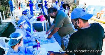 Realizan pruebas para detectar COVID-19 en Jujutla, Ahuachapán - Solo Noticias