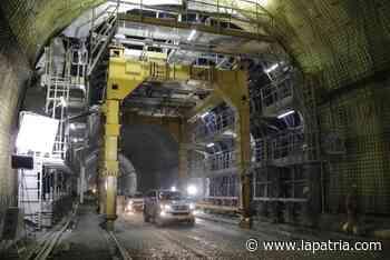 A 10 meses del Túnel de Tesalia que construye Pacífico Tres - La Patria.com