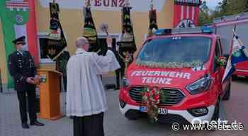 Neues Fahrzeug: Feuerwehr Teunz investiert in die Jugendarbeit - Onetz.de