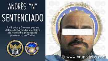 41 años de cárcel por matar a su padre en Yuriria - Brunoticias - Brunoticias