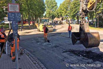 Sanierung des östlichen Bereichs der B208 in Ratzeburg: Abschnitt Königsdamm planmäßig fertiggestellt - LOZ-News | Die Onlinezeitung für das Herzogtum Lauenburg