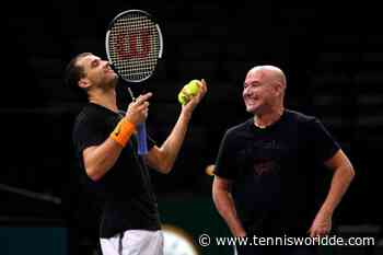 Grigor Dimitrov erklärt, wie sehr es hilft, Andre Agassi als Trainer zu haben - Tennis World DE