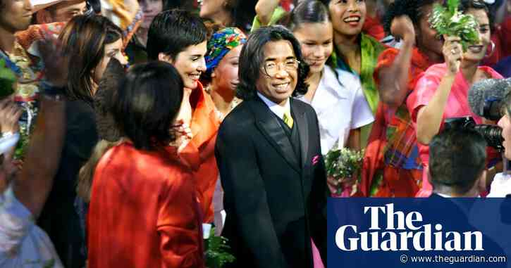 Kenzo Takada remembered for style that meant 'freedom for the woman's body'