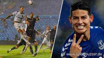 Nur Remis gegen Leeds: ManCity patzt erneut - James Rodriguez glänzt bei Everton-Sieg - Sportbuzzer