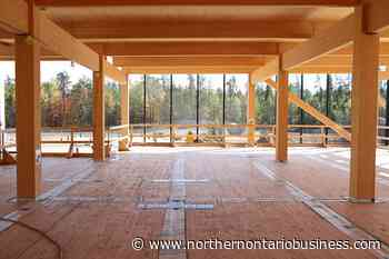 Mass timber makes its mark at Chalk River - Northern Ontario Business