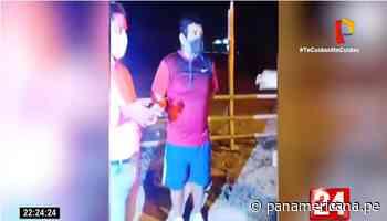 Tumbes: Intervienen a alcalde de Aguas Verdes por transitar sin mascarilla | Panamericana TV - Panamericana Televisión