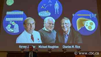 Nobel Prize in medicine awarded to 3 researchers for hepatitus C discovery