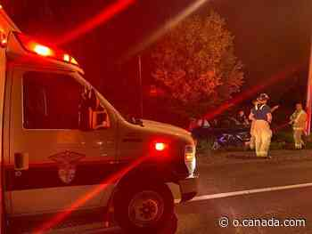 Firefighters free man trapped in ditched vehicle near Manotick - Canada.com