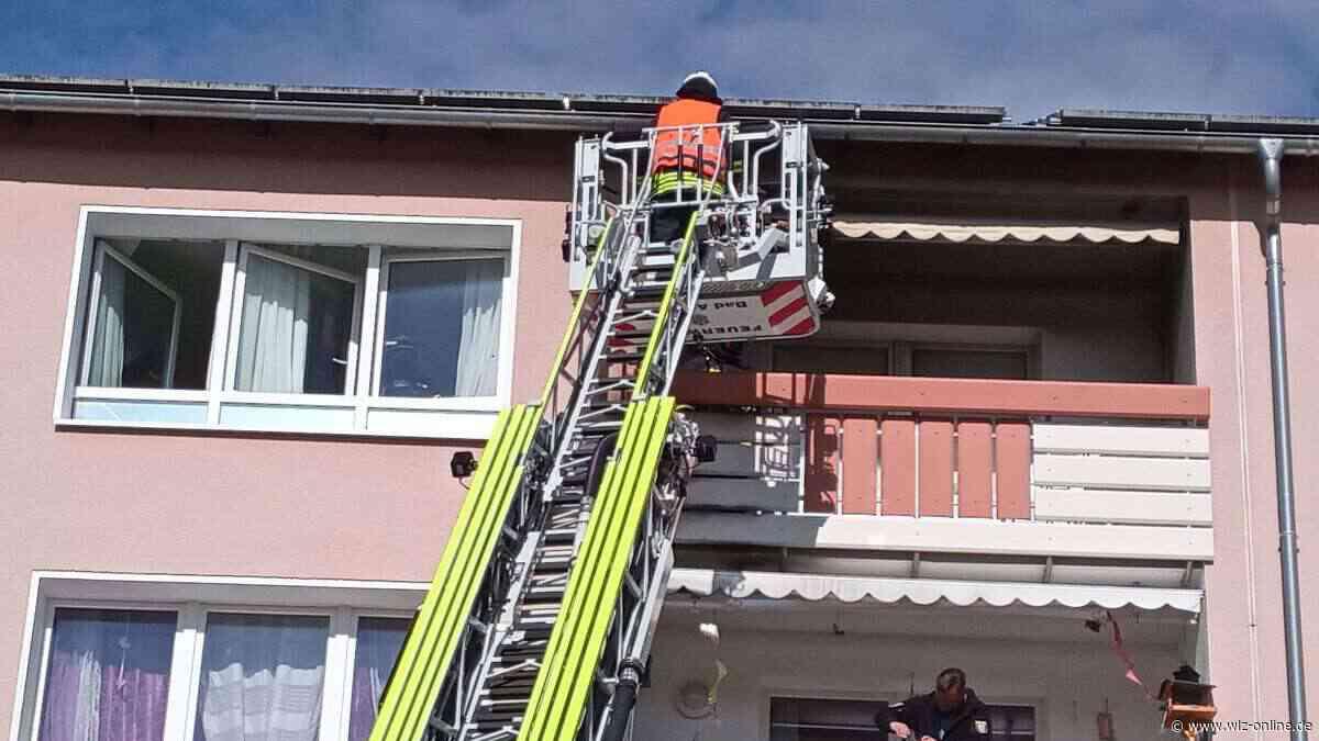 Brand auf Balkon eines Mehrfamilienhauses in Bad Arolsen - wlz-online.de