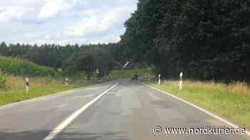 B192 zwischen Sietow und Malchow ab Montag dicht - Nordkurier