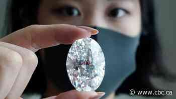 102-carat 'flawless' Canadian diamond sells for online record of $15.7M US at auction