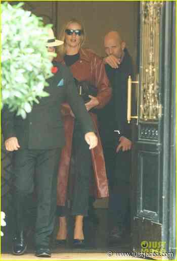 Rosie Huntington-Whiteley & Jason Statham Step Out for Lunch in London | jason statham rosie huntington whiteley out for lunch 05 - Photo - Just Jared