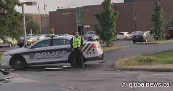 Heritage Regional High School lockdown ends with arrest in Chambly: Longueuil police - Globalnews.ca