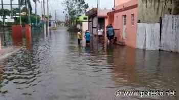 Se reporten casas y calles inundadas en Tizimin por Tormenta Tropical 'Gamma' - PorEsto