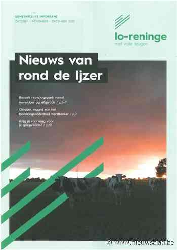 Nieuwe lay-out voor jarige infokrant (Lo-Reninge) - Het Nieuwsblad
