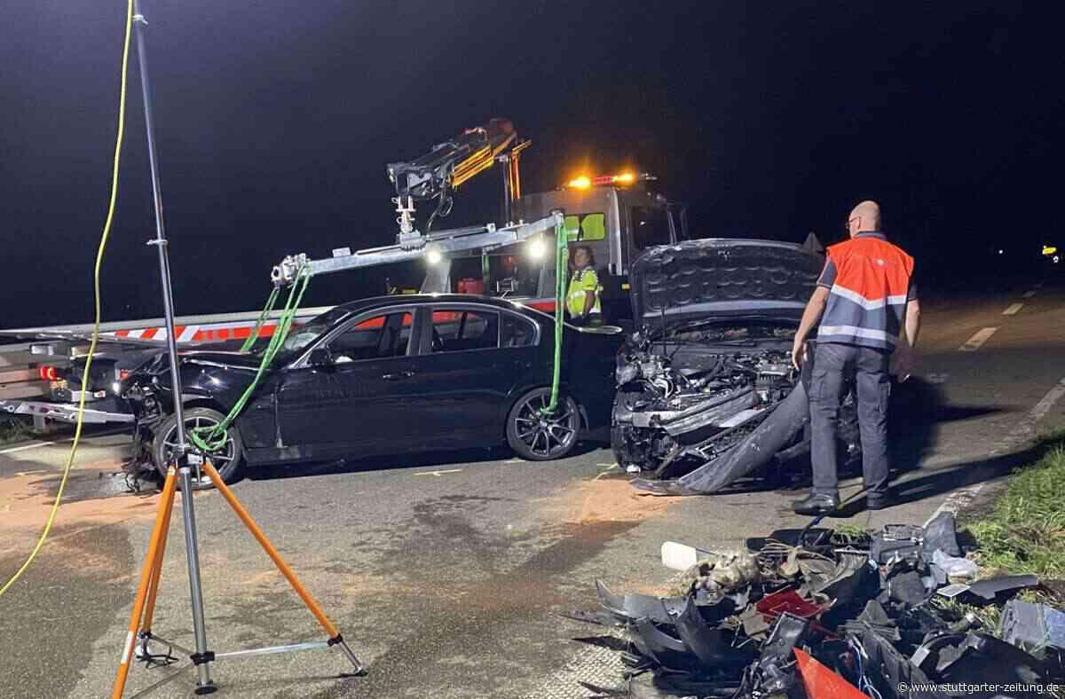 Kusterdingen im Kreis Tübingen - Schwerverletzte nach Zusammenstoß auf der B28 - Stuttgarter Zeitung