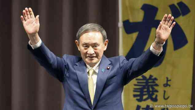 Nachfolger von Shinzo Abe: Japans Parlament wählt Suga zum neuen Regierungschef - Politik - Tagesspiegel