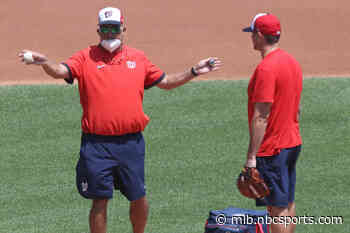 Nationals let pitching coach Paul Menhart go one year after title