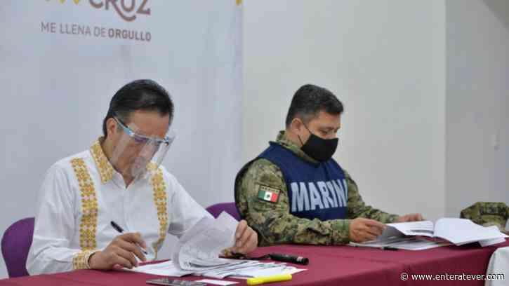 Marina supervisará Puertos de Veracruz, Tuxpan y Coatzacoalcos: Cuitláhuac García - Enteratever