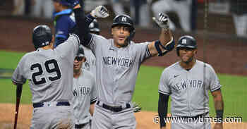 Yankees and Astros Look Formidable in the A.L. Playoffs