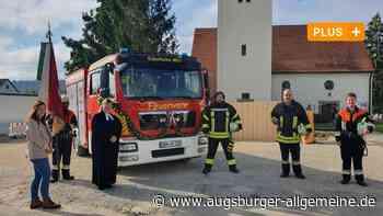 Warum die evangelische Pfarrerin das Ederheimer Feuerwehrauto segnete - Augsburger Allgemeine
