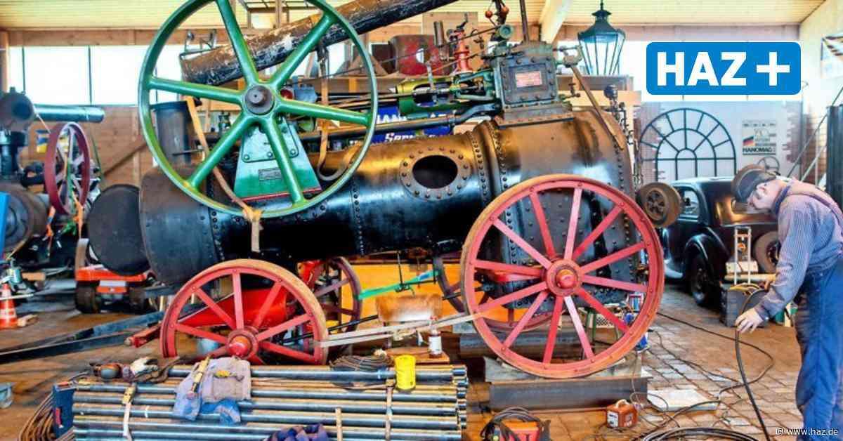 Hanomag-Interessengemeinschaft Bockenem restauriert alte Dampfmaschine - Hannoversche Allgemeine