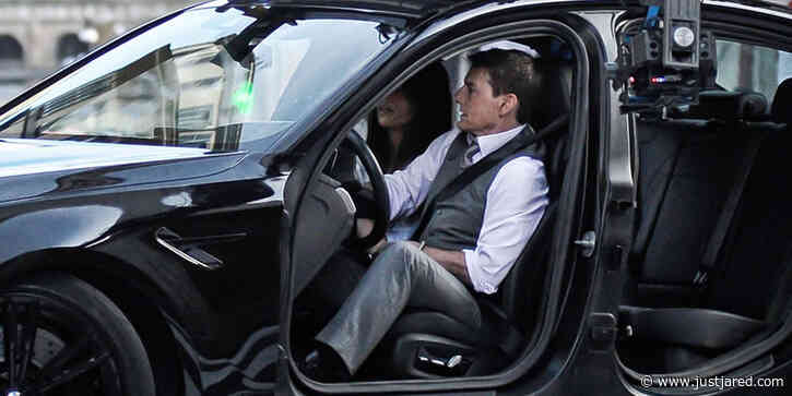 Tom Cruise & Hayley Atwell Film an Intense 'Mission Impossible 7' Car Scene in Rome