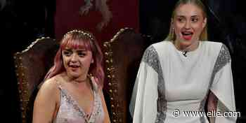 Sophie Turner And Maisie Williams Were Pranked By 'Game of Thrones' Producers In Season 1 - ELLE.com