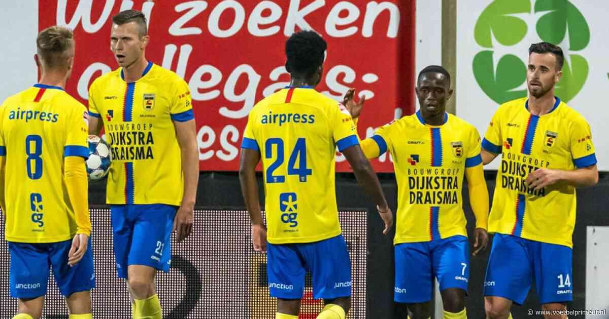 Cambuur haalt na rust uit tegen Helmond Sport en draait achterstand om
