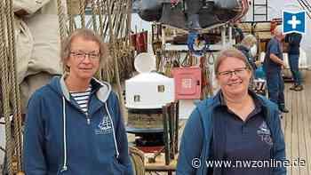 """Segelschiff im Aussenhafen: """"Roald Amundsen"""" für Emder Weihnachtsmarkt bereit - Nordwest-Zeitung"""