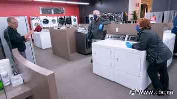 The latest pandemic shortage? Appliances