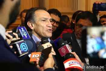 Héctor Becerril: declaran procedente denuncia por tráfico de influencias agravado - Agencia Andina