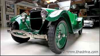 Jay Leno's 1922 Wills Sainte Claire Is a V8 Pioneer Built by Ford's Right-Hand Man - The Drive