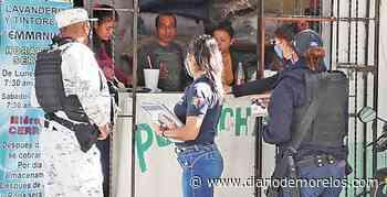 Impulsan prevención de delitos en Emiliano Zapata - Diario de Morelos