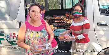 Ayudan con despensas en Emiliano Zapata - Diario de Morelos