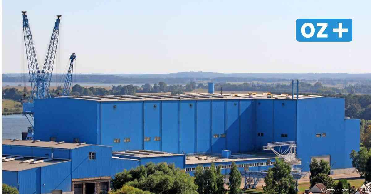 Neue Korvetten für Marine - Zweite Kiellegung in Wolgast auf der Peene-Werft - Ostsee Zeitung
