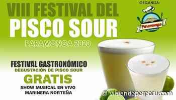 Paramonga realiza festival por el Día Nacional del Pisco Sour 2020 - viajandoporperu.com