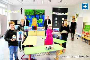 Ganztagsschule in der Gemeinde Emstek: Wo nach Unterrichtsende Kunstwerke entstehen - Nordwest-Zeitung