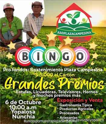 Campesinos de Nunchía realizarán bingo comunitario en La Yopalosa - Noticias de casanare - La Voz De Yopal