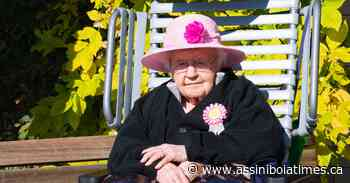 Myra Theresa Gording had a 100-year birthday parade in Rockglen - Assiniboia Times