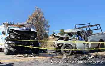 Fatal accidente en la Toluca-Zitacuaro; un muerto y cinco lesionados - elsoldetoluca.com.mx